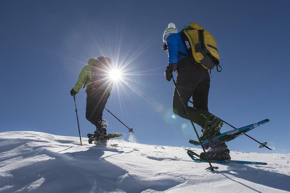 Skitouren im Langtauferertal Vinschgau / Langtaufererhof